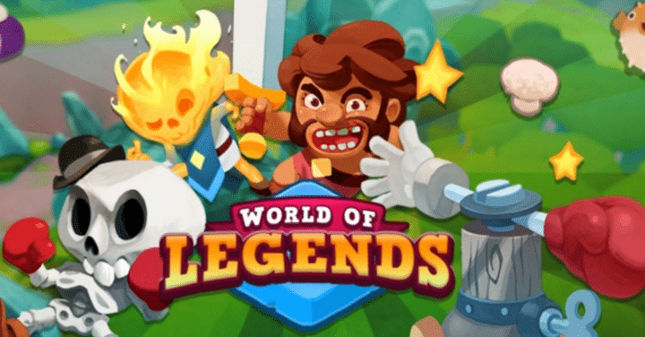 Download World of Legends Latest Mod APK & Mod IPA