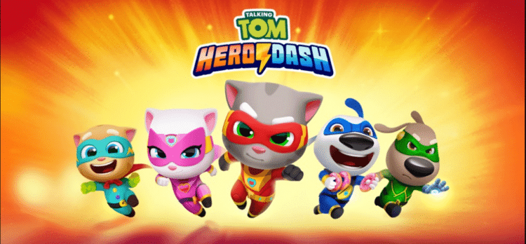 Talking Tom Hero Dash Latest Mod Hack APK v1.0.16.517