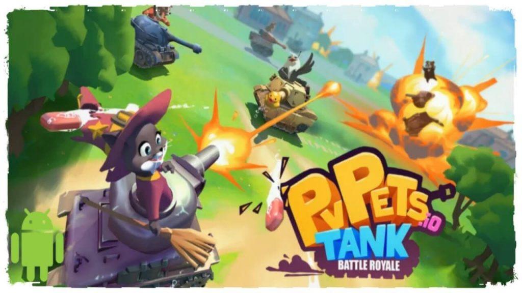Pvpets Tank Battle Royale Mod
