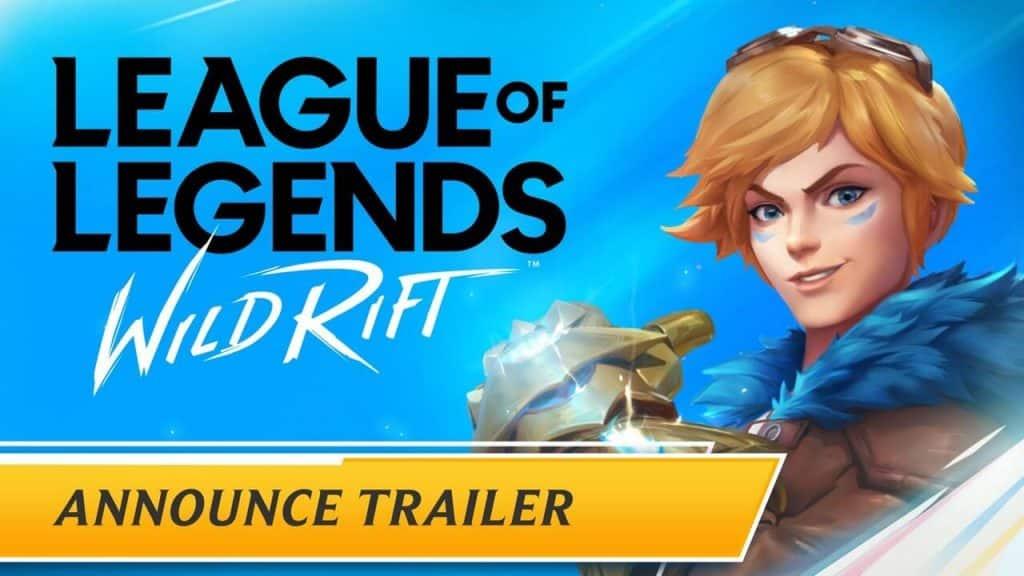 League of Legends Wildrift Apk