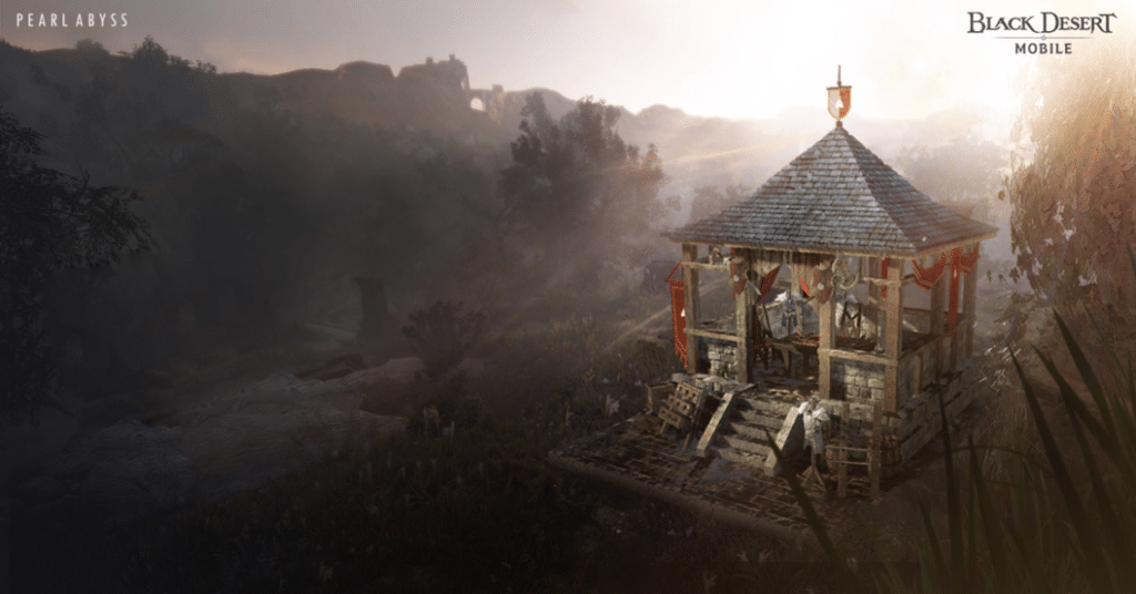 Black Desert Mobile gets a new region in its latest update