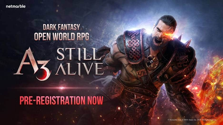Netmarble unveils A3: Still Alive, a Dark Fantasy game combining open-world RPG and Battle Royale
