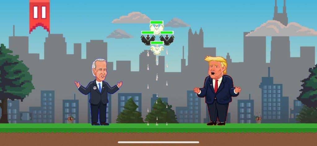 Pigeon POOlitics: 2020 Elections is an irreverent casual game with a serious message (and tons of crap)