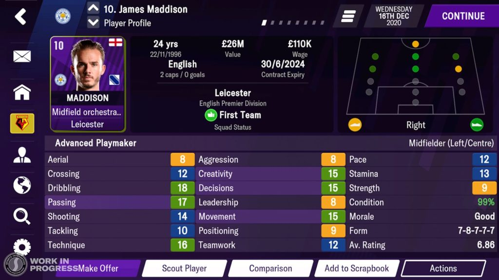 Pre-registrations are open for Football Manager 2021 Mobile