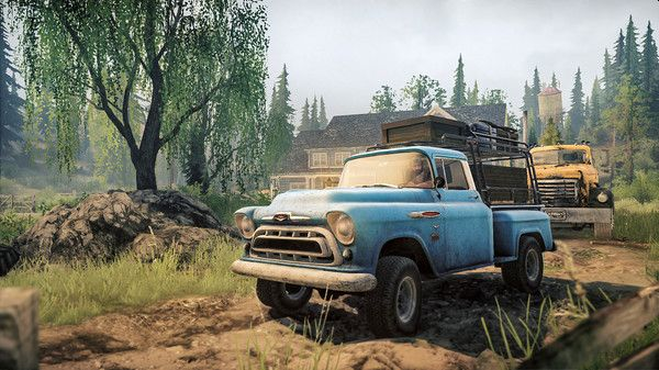 MudRunner Mobile Gets New Rocky Hills Map In Old-Timers DLC