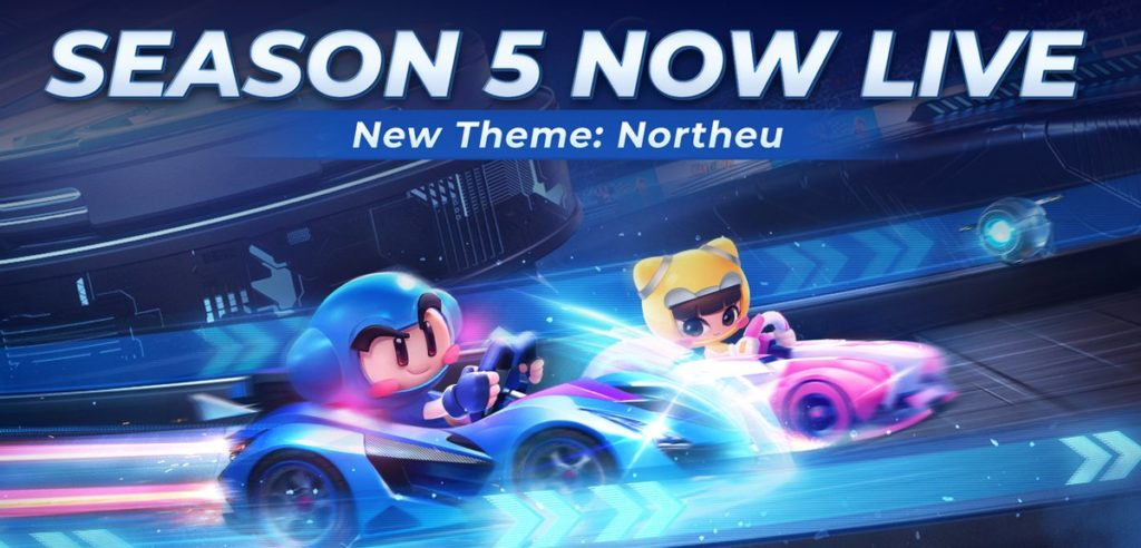 KartRider Rush + 'Northeu' Season 5 update launches popular Kart Racer into space