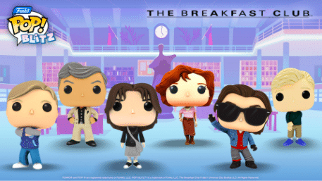 The latest Funko Pop! Blitz Event is a breakfast club crossover
