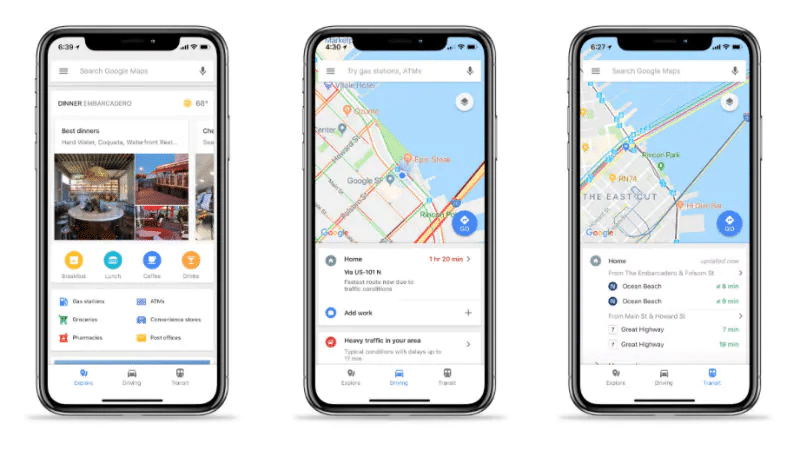 Downloading Google Maps on iOS devices