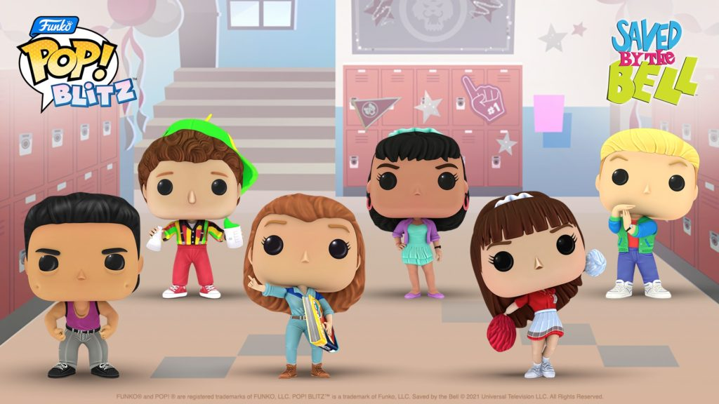 Funko Pop! Blitz's latest crossover event is with '90s teen sitcom Saved by the Bell