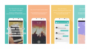 Mydol- Lockscreen, Virtual chat, Chat bot Apk