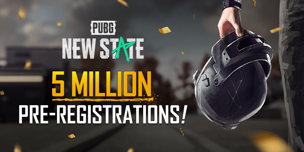 PUBG: New State crushes 5 million pre-registrations in one week