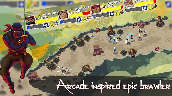 Pixel-art Beat 'em Up Clan N is now available on Android