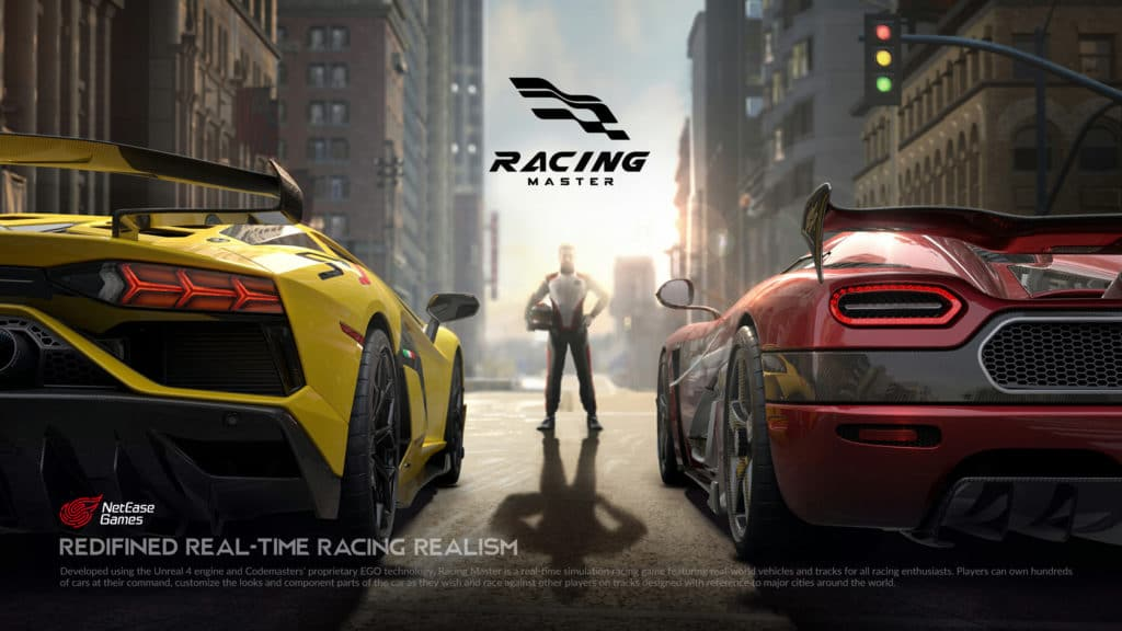 Racing Master is a promising racer with a boring name, soon to be from Codemasters and NetEase