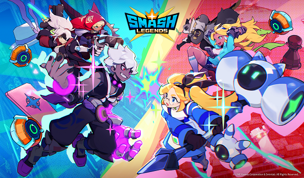 Smash Legends is a 3-minute cross-platform brawler, now available in the UK and Nordic countries