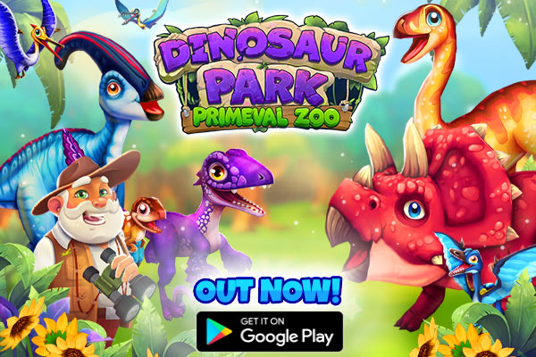 Dinosaur Park - Primeval Zoo is a management game inspired by Jurassic Park, available now on Android