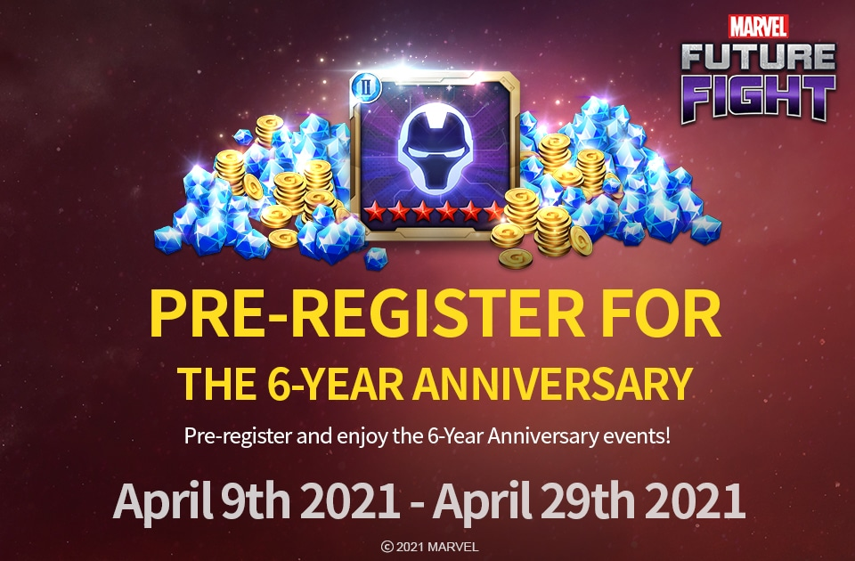 Here's how you can participate in Marvel Future Fight's sixth anniversary events