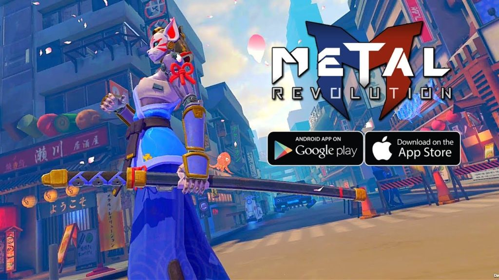 Metal Revolution is an awesome upcoming Robo-Fighter