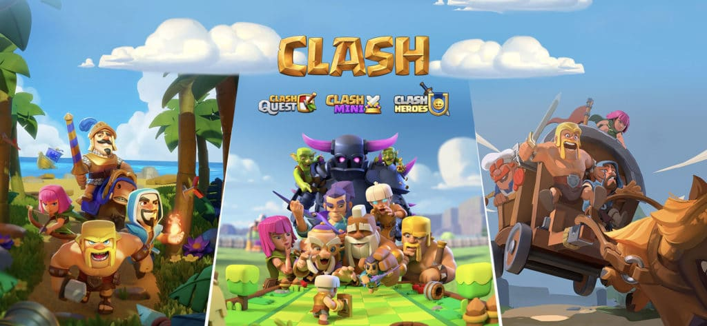 Supercell announces 3 new Clash games for mobile (then immediately threatens to kill them)