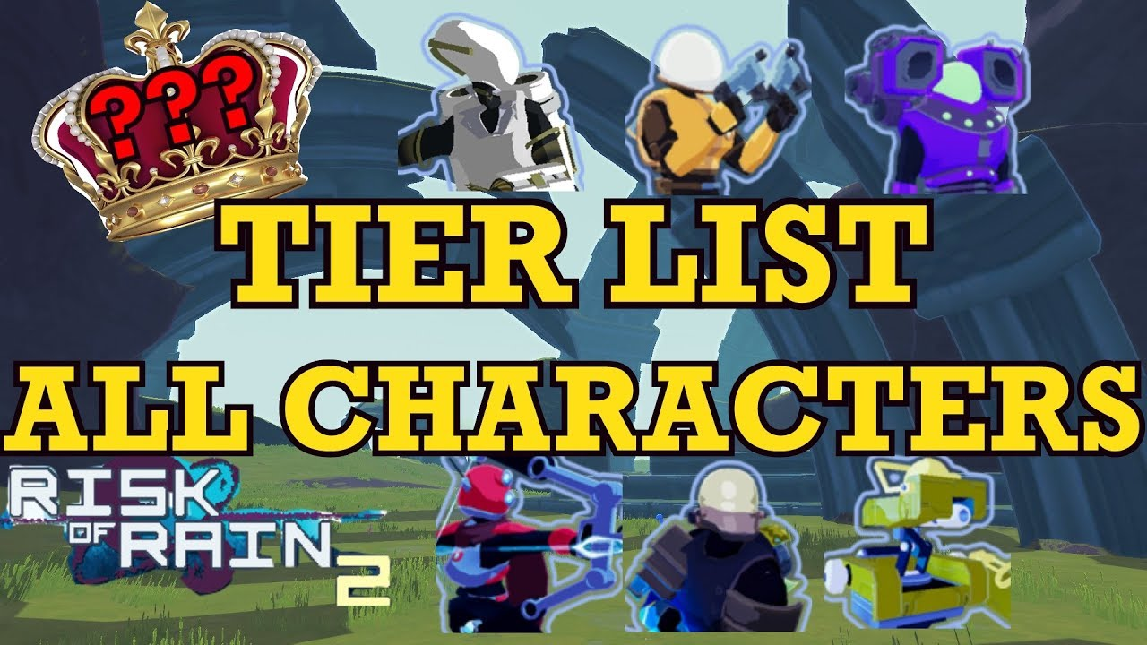 Risk of Rain 2 Tier List [JUNE 2021] (Latest Characters)