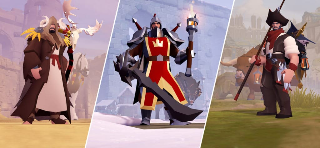 Check out this trailer to celebrate the release of Albion Online on Android