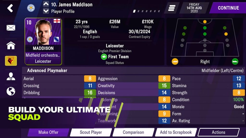 Football Manager 2021 Mobile and Touch are both on sale