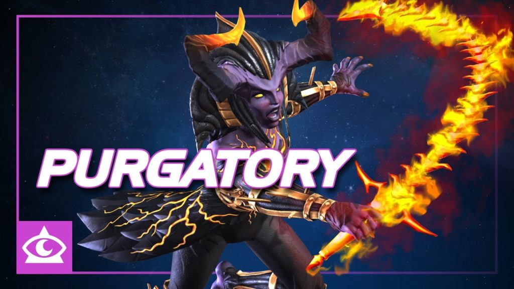 Purgatory is the new character in the Marvel Contest of Champions
