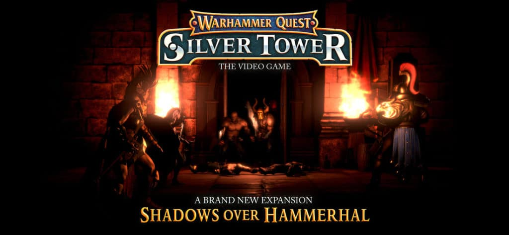 Shadows Over Hammerhal is a free update for Warhammer Quest: Silver Tower