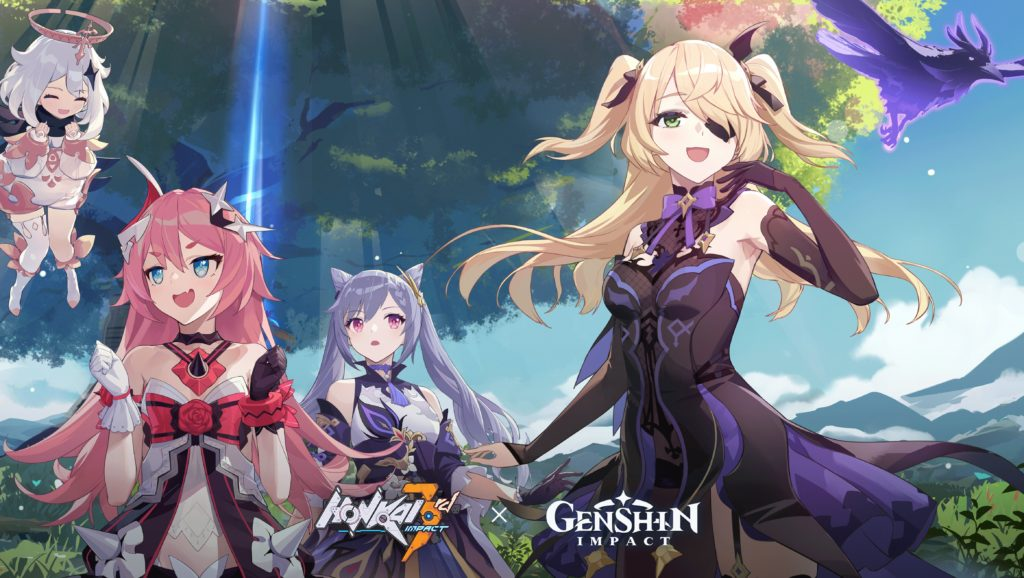The Honkai Impact 3rd x Genshin Impact crossover we've all been waiting for is almost here