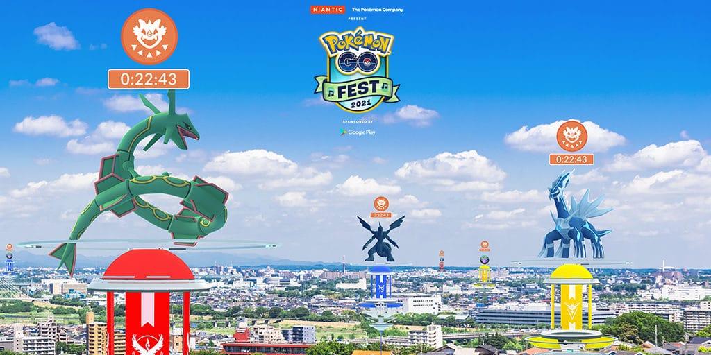 Pokemon Go Fest 2021 is going to waste time and space