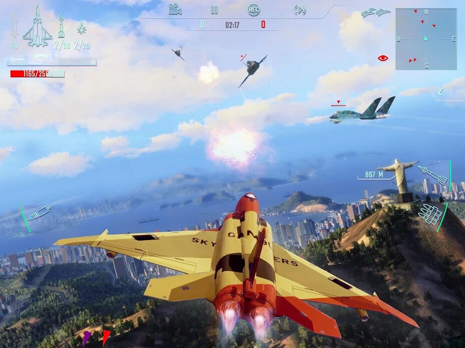 Sky Gamblers: Infinite Jets Now Available For Android