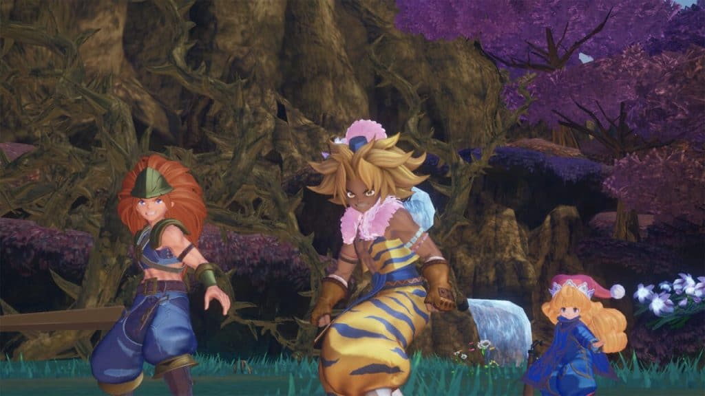 Trials of Mana is live on the Google Play Store