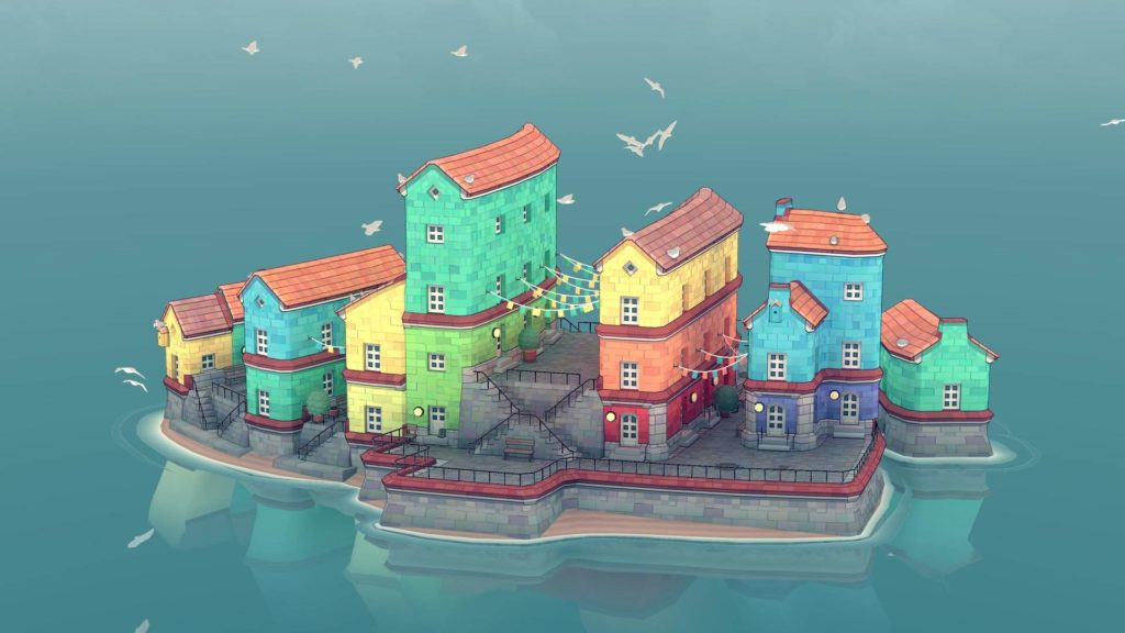 Organic City Builder's Townscaper launches on Android next month