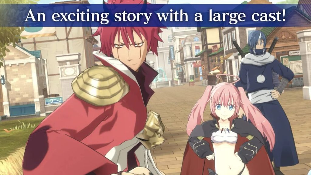 This time I reincarnated in Slime ISEKAI Memories pre-registration is now live